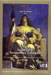 Solidarités : perspectives juridiques