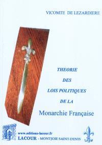 Théorie des lois politiques de la monarchie française. Volume 2