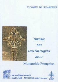 Théorie des lois politiques de la monarchie française. Volume 3