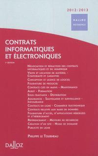 Contrats informatiques et électroniques : 2012-2013