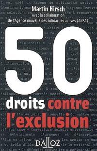 50 droits contre l'exclusion