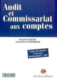 Audit et commissariat aux comptes : à jour des normes d'exercice professionnel-NEP