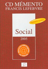 CD mémento Francis Lefebvre social 2005