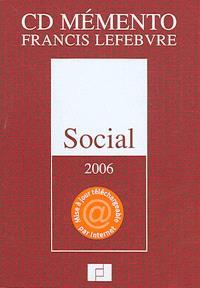 CD mémento Francis Lefebvre social 2006