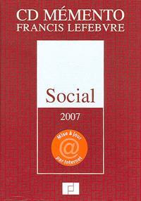 CD mémento Francis Lefebvre social 2007