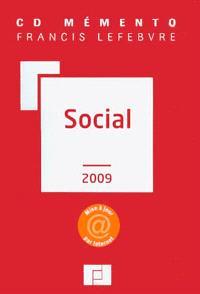 CD mémento Francis Lefebvre social 2009