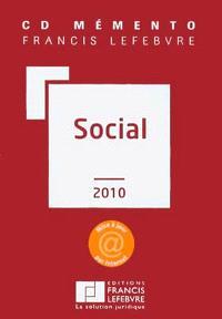 CD mémento Francis Lefebvre social 2010