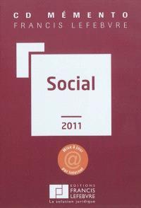 CD mémento Francis Lefebvre social 2011