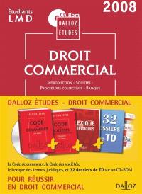CD Rom Dalloz Etudes droit commercial 2008