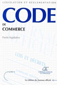 Code de commerce : partie législative