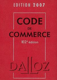 Code de commerce 2007
