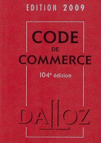 Code de commerce 2009
