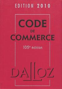 Code de commerce 2010