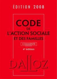 Code de l'action sociale et des familles 2008