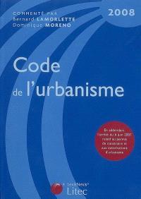 Code de l'urbanisme 2008