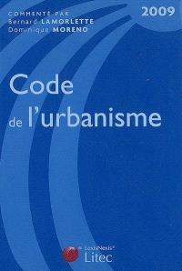 Code de l'urbanisme 2009