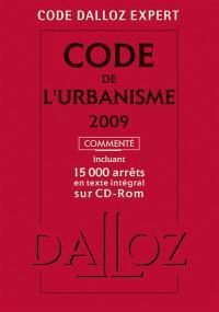 Code de l'urbanisme 2009, commenté