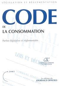 Code de la consommation : partie législative et réglementaire