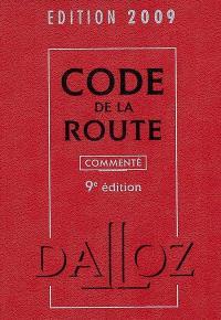 Code de la route : édition 2009