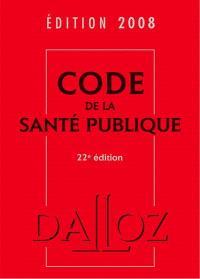 Code de la santé publique 2008
