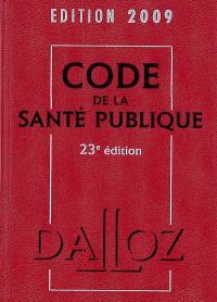 Code de la santé publique 2009