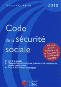 Code de la sécurité sociale 2010