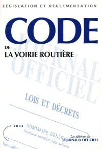 Code de la voirie routière