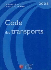 Code des transports 2008