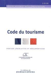 Code du tourisme : parties législative et réglementaire