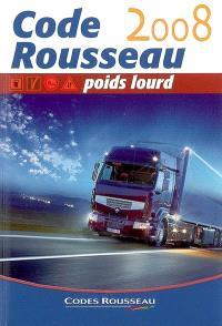 Code Rousseau poids lourd : 2008