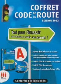 Coffret code de la route : tout pour réussir son examen et avoir son permis ! : édition 2013