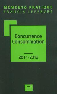 Concurrence consommation 2011-2012