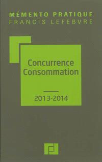 Concurrence consommation 2013-2014 : à jour au 1er octobre 2012