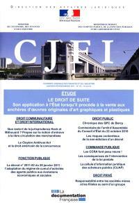 Courrier juridique des finances et de l'industrie (Le). n° 63