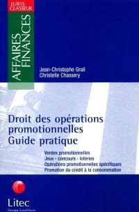 Droit des opérations promotionnelles : guide pratique