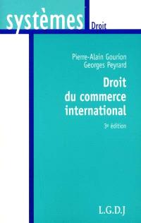 Droit du commerce international