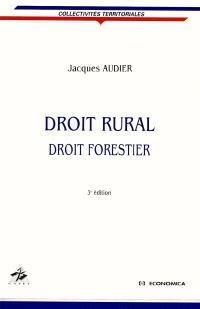 Droit rural, droit forestier