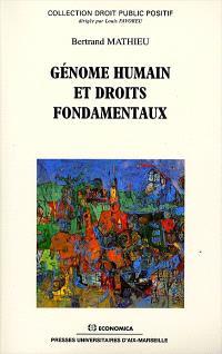 Génome humain et droits fondamentaux