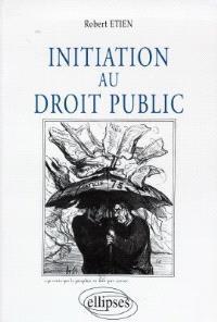 Initiation au droit public