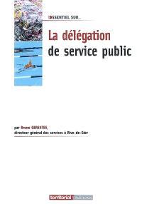 La délégation du service public