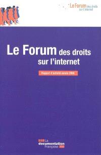 Le Forum des droits sur l'Internet : rapport d'activité année 2008
