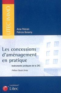 Les concessions d'aménagement en pratique : instruments juridiques de la ZAC