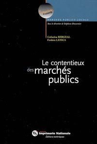 Les contentieux des marchés publics