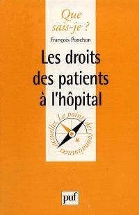 Les droits des patients à l'hôpital