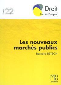 Les nouveaux marchés publics