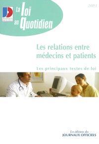 Les relations entre médecins et patients