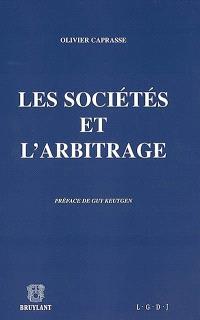 Les sociétés et l'arbitrage