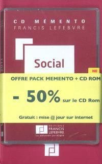 Pack social 2011 : mémento + CD-ROM + mise à jour gratuite sur Internet
