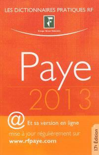 Paye : 2013
