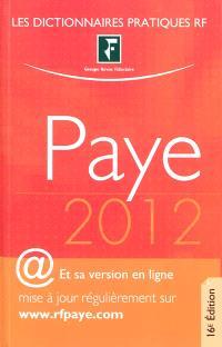 Paye 2012